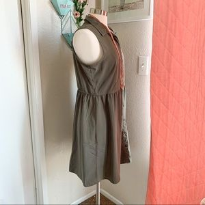 Maurices Dresses - Maurices   Olive Collared Button-Up Dress L